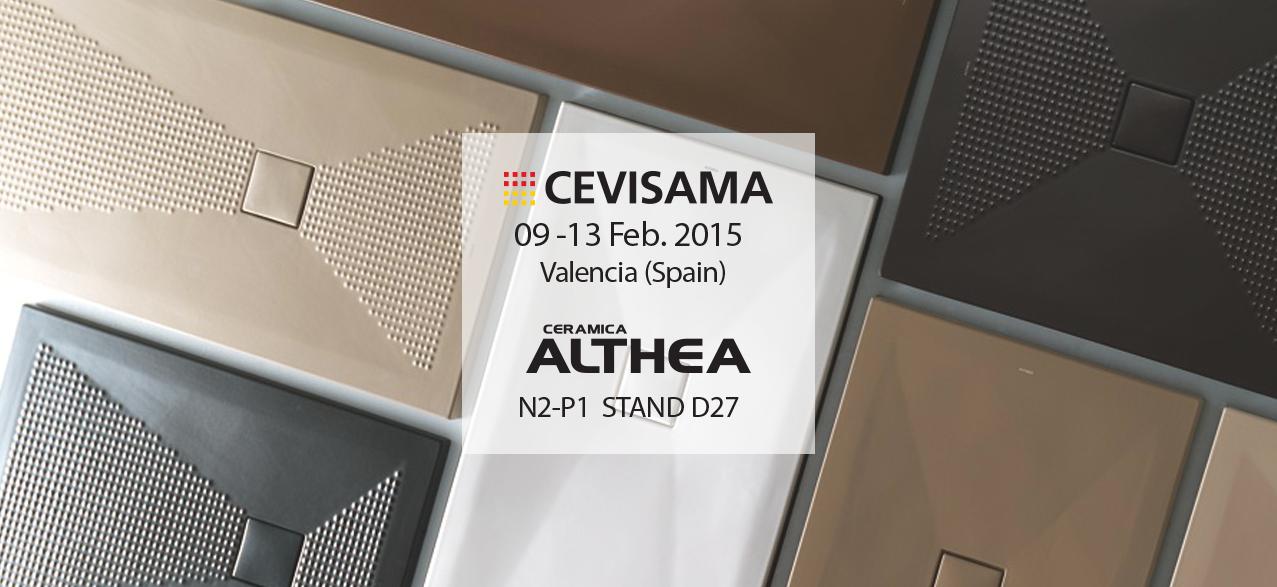Ceramica Althea Spa Civita Castellana.Ceramiche Althea Presenta Le Novita Al Cevisama Pluston