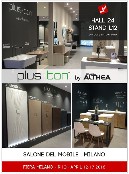 Plus ton partecipa al salone del mobile milano 2016 pluston for Fiera mobile milano 2016